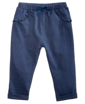 First Impressions Baby Girls Ruffle Jogger Pants Created for Macys