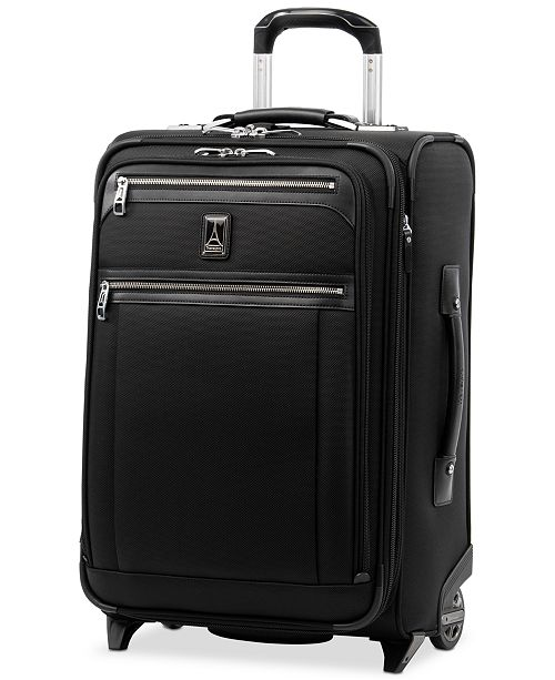 "Travelpro Platinum Elite 22"" Wheeled Carry-On Suitcase"
