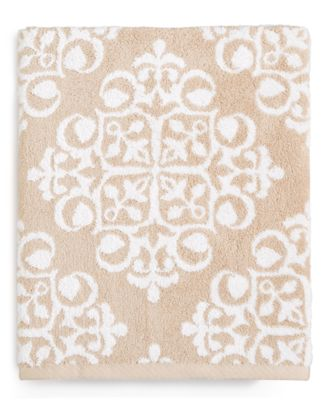 Elite Fashion Medallion Cotton Bath Towel, Created for Macy's