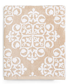 Charter Club Elite Fashion Medallion Cotton Bath Towel, Created for Macy's