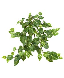 "3-Pc. 30"" Pothos Artificial Hanging Bush Set"