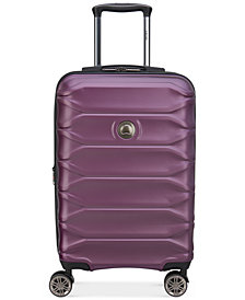 "Delsey Meteor 21"" Hardside Expandable Carry-On Spinner Suitcase"