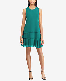 American Living Ruffled A-line Dress