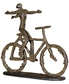 Freedom Rider Metal Figurine
