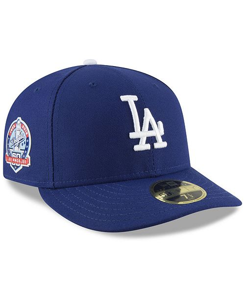 39b096a1e ... New Era Los Angeles Dodgers Authentic Collection 60th Anniversary  59FIFTY Fitted Cap ...