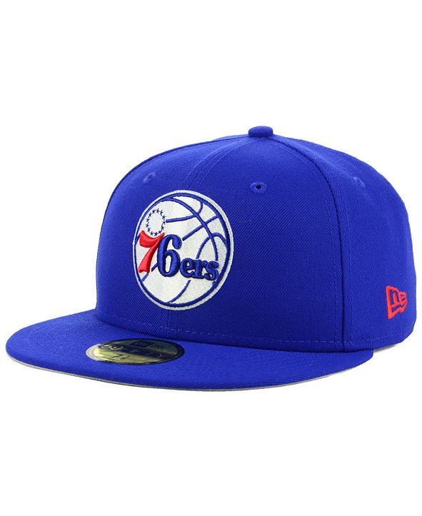 New Era Philadelphia 76ers Basic 59FIFTY Fitted Cap 2018
