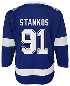 Authentic NHL Apparel Steven Stamkos Tampa Bay Lightning Player Replica Jersey, Toddler Boys (2T-4T)