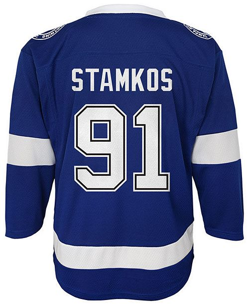 new product 6b8dd 3d9b0 Steven Stamkos Tampa Bay Lightning Player Replica Jersey, Toddler Boys  (2T-4T)