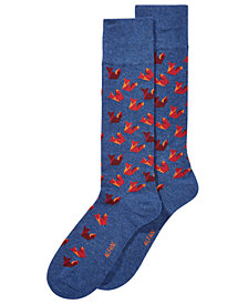 AlfaTech by Alfani Men's Assorted Origami Dress Socks, Created for Macy's