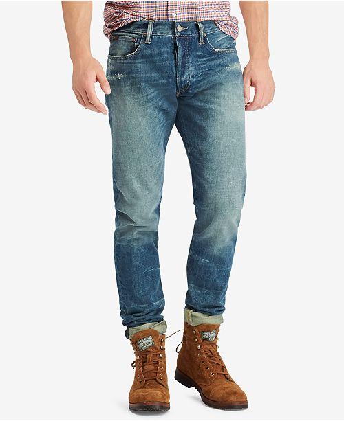 2f175348ab Polo Ralph Lauren Men's Sullivan Slim Jean & Reviews - Jeans - Men ...