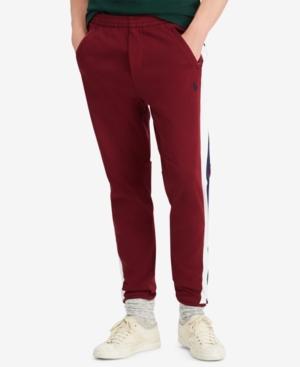 Polo Ralph Lauren Men's Big & Tall Cotton Interlock Track Pants