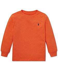 Polo Ralph Lauren Toddler Boys Cotton Long-Sleeve T-Shirt