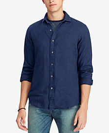Polo Ralph Lauren Men's Classic Fit Chambray Cotton Shirt