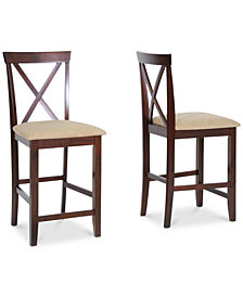 Ninel Counter Stool (Set of 2), Quick Ship