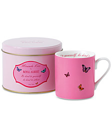 Miranda Kerr for Royal Albert Be Kind To Yourself, Be Kind To Others Pink Mug