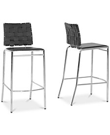 Datya Bar Stool (Set of 2), Quick Ship
