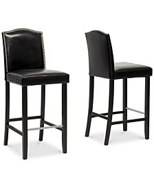 Nasya Bar Stool (Set of 2), Quick Ship