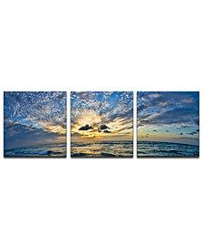 """""""Ready2HangArt 'Ocean' 3-Pc. Canvas Art Print Set"""