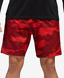 adidas Men's Camo-Print Woven Running Shorts