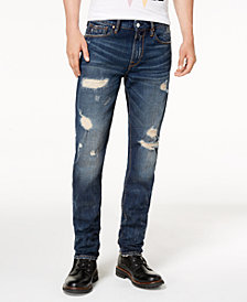 GUESS Men's Slim-Fit Tapered Leg Jeans