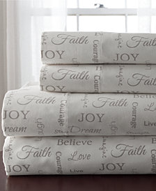 Inspirational 4-Pc. Queen Sheet Set