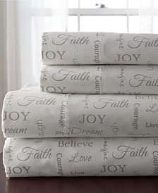 Inspirational 4-Pc. California King Sheet Set