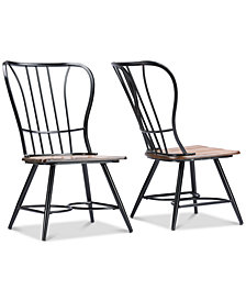 Tauria Dining Chair (Set of 2), Quick Ship