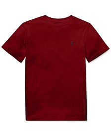Polo Ralph Lauren Big Boys Cotton Jersey Crew-Neck T-Shirt