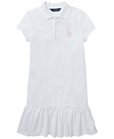 Polo Ralph Lauren Big Girls Short-Sleeve Big Pony Dress