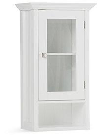 Acadian Single Door Wall Cabinet, Quick Ship