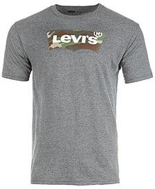 Levi's® Men's Camo Batwing Logo-Print T-Shirt