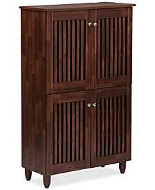 Pacari Tall Storage Cabinet, Quick Ship
