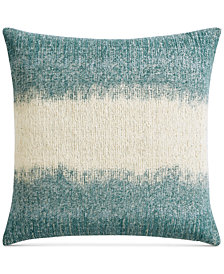 "Lucky Brand Ombre Texture 22"" x 22"" Decorative Pillow, Created for Macy's"