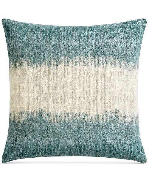 """Lucky Brand Ombre Texture 22"""" x 22"""" Decorative Pillow, Created for Macy's"""