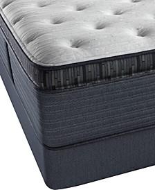 """Platinum Preferred Cedar Ridge 16"""" Luxury Firm Pillow Top Mattress Set- Queen"""