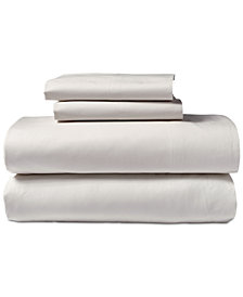 Donna Karan Cotton 600-Thread Count 3-Pc. European Queen Sheet Set