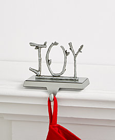 Holiday Lane Joy Stocking Holder, Created for Macy's