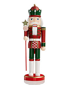 Holiday Lane Red Star Soldier Nutcracker, Created for Macy's