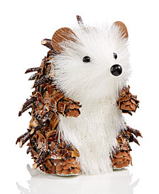 Holiday Lane Brown/White Hedgehog, Created for Macy's