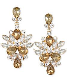 Jewel Badgley Mischka Crystal & Stone Drop Earrings