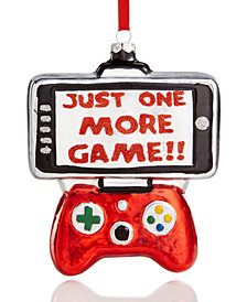 Holiday Lane Video Game & Controller Ornament, Created for Macy's