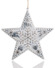 Holiday Lane Iron Star Ornament, Created for Macy's
