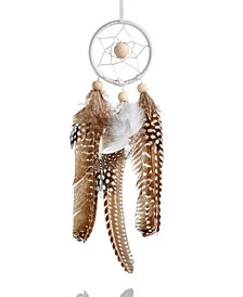 Holiday Lane Dream Catcher Christmas Hanging Ornament with Feather Dangle, Created for Macy's