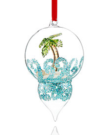 Holiday Lane Beach Dome Ornament, Created for Macy's