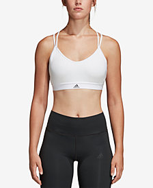 adidas All Me ClimaLite® Strappy Low-Impact Compression Sports Bra