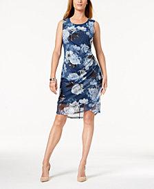 Love Scarlett Petite Printed Mesh Dress