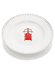 Martha Stewart Collection Sleigh Salad Plate, Created for Macy's