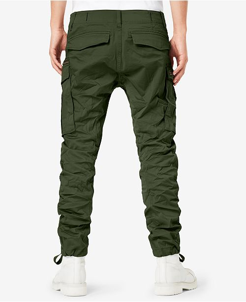 0151d21fa G-Star Raw Men s Rovic 3D Straight Tapered Fit Cargo Pants   Reviews ...