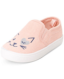 Carter's Little & Toddler Kitty Cat Slip-Ons