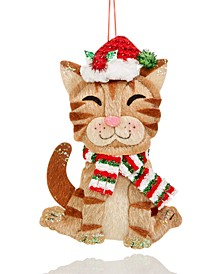 Pets Smiling Cat Ornament Created For Macy's